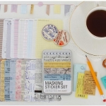 Tin Case_Masking Sticker Set (Paper)