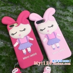 เคส iPhone 7 (4.7 นิ้ว) ซิลิโคน soft case การ์ตูนน่ารักมากๆ ราคาถูก (ไม่รวมสายคล้อง)
