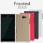 เคส Sony Xperia M2 : Nillkin Super Frosted Shield + แถมฟิล์ม