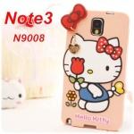 เคส note 3 Case Samsung Galaxy note 3 KITTY ซิลิโคนมีสายหัวใจทองห้อยน่ารักๆ ราคาส่ง ขายถูกสุดๆ