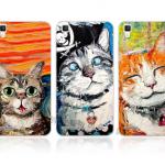 เคส OPPO F1 ซิลิโคน soft case สกรีนลายน้องแมวสุดแสนน่ารัก ราคาถูก
