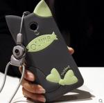 Case Meizu M2 Note ซิลิโคน TPU 3 มิติ แมวน้อยมีหูแสนน่ารัก ราคาถูก (ไม่รวมสวยคล้อง)