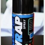 สเปรย์หล่อลื่นโซ่สีใส - เกรดพรีเมี่ยม WRAP SPRAY BY LUBE71 ขนาด200มล.