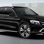 พรมปูพื้นรถเข้ารูป Benz GLC 250 2016