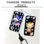 เคส iPhone 6 Plus / 6s Plus ซิลิโคนเคสแบบนิ่ม Soft case ลายการ์ตูนน่ารักมากๆ พร้อมแหวนสำหรับตั้ง ราคาถูก (ไม่รวมสายคล้อง)