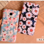 เคส Meizu MX5 พลาสติกเคลือบเงาสกรีนลายดอกไม้ กราฟฟิค สวยงามมากๆ ราคาถูก