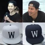 หมวกฮิฟฮอฟ W แบบ Joongki