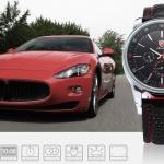 นาฬิกาข้อมือชายแฟชั่น Shank Sport watch SH094