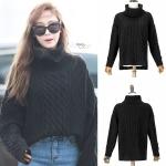 เสื้อแขนยาวไหมพรม คอเต่า (Sweater) แบบ Jessica