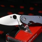 Spyderco Domino Folding Knife CTS-XHP C172CFBLTIP