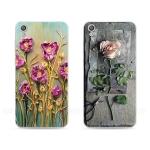 เคส Huawei Y6II ซิลิโคน soft case สกีนลายดอกไม้แสนหวาน ราคาถูก