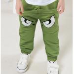 กางเกง สีเขียว แพ็ค 4ชุด ไซส์ 1-3-5-7