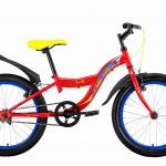 จักรยานเสือภูเขาเด็ก Kesto Shark1.0 เฟรมเหล็ก Single speed,วงล้อ 20 นิ้ว
