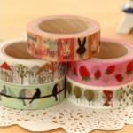ANGOO Masking Tape (Forest)