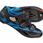 รองเท้าจักรยาน Shimano รุ่น SH-R107 มีสีดำนง และ สีขาว