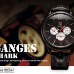 นาฬิกาข้อมือชายแฟชั่น Shank Sport watch SH096