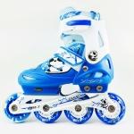 รองเท้าสเก็ต rollerblade รุ่น MCB สีฟ้า-ขาว Size S