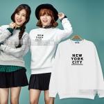 เสื้อแขนยาว (Sweater) NEW YORK CITY แบบ JIMIN AOA