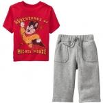 PJA074 เสื้อผ้าเด็ก ชุดลำลอง Mighty Mouse แนวสปอร์ต baby Gap Made in Malasia งานส่งออก USA เหลือ Size 80/90
