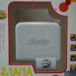 adapter Eloop 1A / 2.1A GF-U201 .. สีขาว