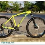 จักรยานเสือภูเขา POLYGON XTRADA 3 ,27 สปีด ดิสน้ำมัน 2016