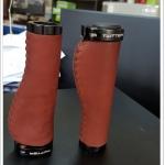 ปลอกแฮนด์หนังแท้ TWITTER Leather Bike Grips,TWG01(S196)
