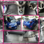 โรงงานพรมปูพื้นรถยนต์เข้ารูปราคาถูก Hyundai Veloster