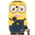 Case S2 Case Samsung Galaxy S2 i9100 มินเนี่ยน Despicable Me 2 ซิลิโคน 3D น่ารักๆ
