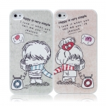 I Phone 4,4S Valentine Lovers Couple