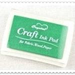 Crystal Craft Ink Pad (สีเขียว)