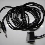 สาย USB AUX Galaxy Tab 3IN1