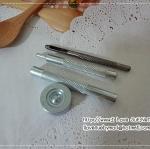 ชุดตอกกระดุมแป๊ก เบอร์ 633 ครบชุด (ใช้ได้กับกระดุมแป๊กทุกชิ้นในร้าน - ขนาดฐานกระดุม 1.2 cm)