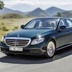 พรมปูพื้นรถเข้ารูป Benz E220D W213 2016