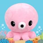 [ของแท้] ตุ๊กตาปลาหมึกสีชมพู ในซีรี่ย์ The Legend of the Blue Sea (20 cm.)