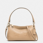 Preorder COACH EMBOSSED HORSE AND CARRIAGE CHARLEY CROSSBODY IN PEBBLED LEATHER Style No: 33521