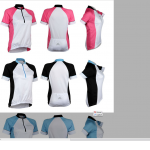 เสื้อปั่นจักรยานแขนสั้น Roswheel women bike shirts