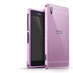 เคส Sony Xperia Z2 ขอบเคสโลหะ Bumper + พร้อมแผ่นฝาหลัง ราคาถูก