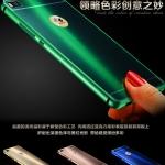 เคส Huawei P8 ขอบเคสโลหะ Bumper + พร้อมแผ่นฝาหลังเงางามสวยจับตา ราคาถูก