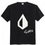 เสื้อยืดแฟชั่น EXO OVERDOSE LOGO 2014 SUHO (ระบุสี)