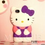 case iphone 4s 4 คิตตี้ hello kitty ซิลิโคน 3D สวยๆ น่ารักมากๆ