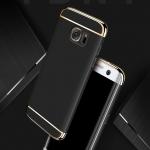 เคส Samsung J5 Prime พลาสติกขอบทองสวยหรูหรามาก ราคาถูก