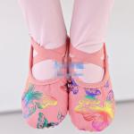 รองเท้าบัลเล่ต์ สีชมพู แพ็ค 5 คู่ ไซส์ 26-27-28-29-30
