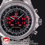 นาฬิกาข้อมือชายแฟชั่น Shank Sport watch SH034