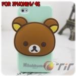 case iphone 4/4s เคสไอโฟน4/4s เคสซิลิโคน Rilakkuma น่ารักๆ