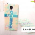 เคสซัมซุง S5 Case Samsung Galaxy S5 ลายหวานๆ เคสพลาสติกผิวขรุขระกันลื่น ขอบโปร่งแสง ลายน่ารักๆ สวยๆ