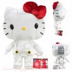 ตุ๊กตาเฮลโหลคิตตี้โรบ็อต White Hello Kitty x Robot plush doll