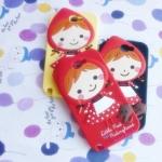 เคส Samsung Note 2 หนูน้อยหมวกแดง ซิลิโคน 3D นิ่มๆ น่ารักๆ Little Red Riding Hood-dimensional cartoon silicone