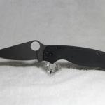 Spyderco ParaMilitary2 S30V Black Blade, G10 Handles C81GPBK2