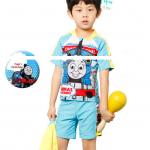 ชุดว่ายน้ำ สีฟ้า แพ็ค 4ชุด ไซส์ S-M-L-XL
