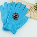 ถุงมือ BTS สีฟ้า